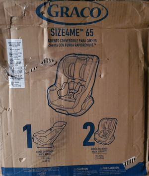 NIB / Graco Convertible Carseat / Newborn to Booster Seat/ UP TO 60 lbs for Sale in Starkville, MS