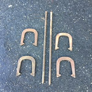 Vintage METAL horseshoe set complete for Sale in Concord, MA