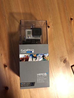 GoPro Hero3+ Silver Never Opened for Sale in Issaquah, WA
