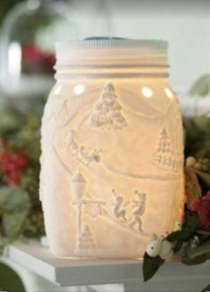 Scentsy Let It Snow Mason Jar Warmer for Sale in Nokesville, VA