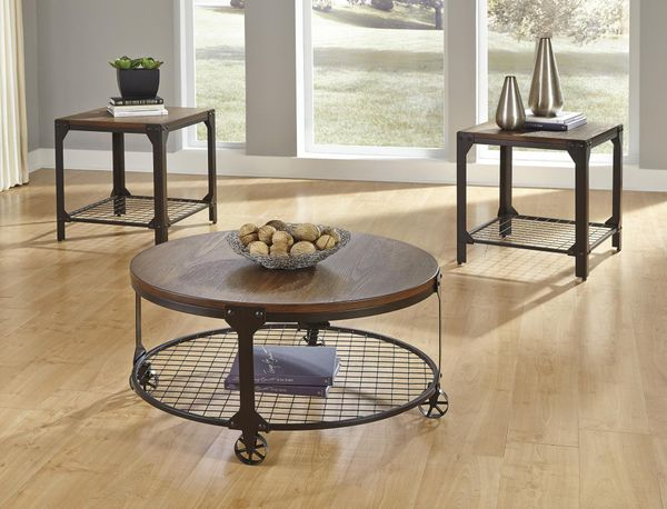 Ashley Furniture Coffee Table/End Table Set •BRAND NEW•