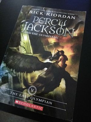Percy Jackson Books for Sale in Lakeside, CA