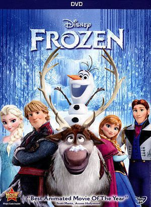 Disney FROZEN animated movie DVD - disc only. Excellent for Sale in Mukilteo, WA