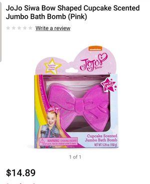 Jojo Siwa Cupcake Scented Jumbo Bath Bow for Sale in Modesto, CA