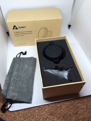 Aukey cellphone camera super fisheye lens(brand new) for Sale in Philadelphia, PA