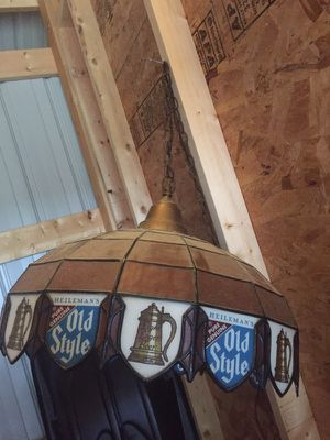 Antique Old Style Beer Swag Light for Sale in Minocqua, WI