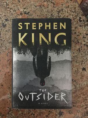 The Outsider by Stephen King hardback for Sale in Chandler, AZ