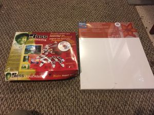 Bob Ross painting kit and 16x20 canvas for Sale in Jolivue, VA