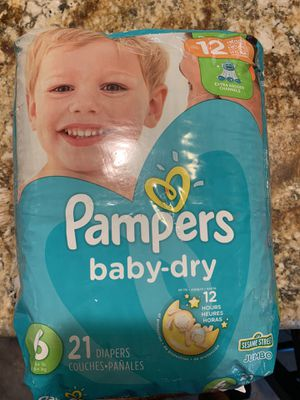 Pampers diapers size 6 for Sale in San Diego, CA