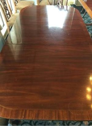Large Council Furniture table with 3 leafs for Sale for sale  Decatur, GA