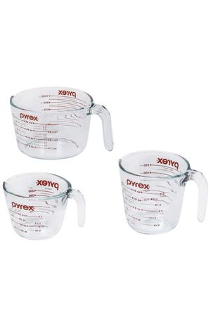 A SET OF 3 PYREX GLASS MEASURING CUPS! for Sale in North Fort Myers, FL