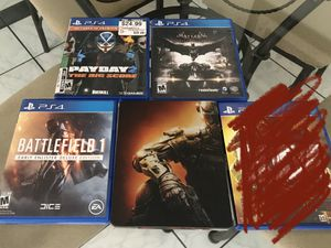 Play Station 4 Ps4 Video Games Bundle for Sale in Ontario, CA
