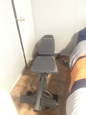 Bench with leg extension for Sale in Grand Prairie, TX