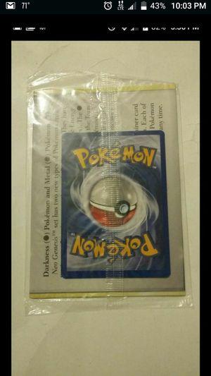 POKEMON NEO GEO PROMO CARD FACTORY SEALED for Sale in Las Vegas, NV