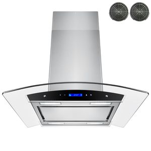 30 in. Convertible Kitchen Island Mount Range Hood in Stainless Steel for Sale in Richardson, TX