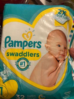 Newborn diapers for Sale in Fresno, CA