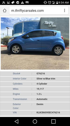 2014 Chevy spark everyones approved for Sale in Mesa, AZ