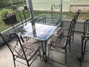 Kitchen Table with 6 chairs and side stand for Sale in Lutz, FL