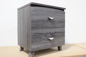 Nightstand, Distressed Grey , #Y1603 for Sale in Downey, CA