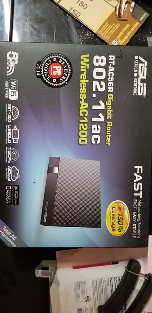 Asus rtac-56r wireless ac router for Sale in Redmond, WA