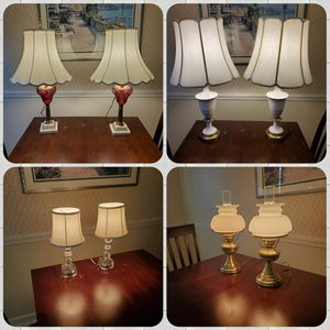 Vintage Table Lamps for Sale in Camp Hill, PA
