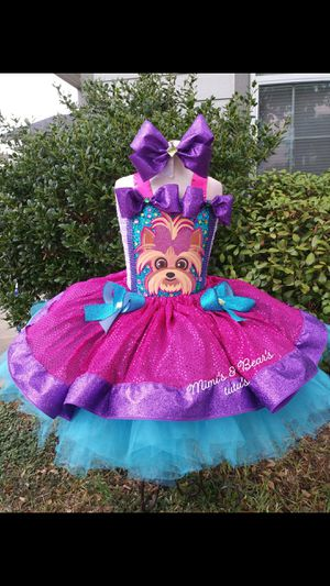 Jojo (bow bow) tutu dress for Sale in Del Valle, TX