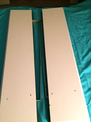 """Set of 2 hanging wall shelves 46"""" x 10"""" x 2"""" for Sale in Pittsburgh, PA"""