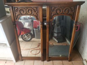2 Antique Mirrors - matching pair for Sale in Las Vegas, NV