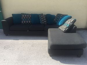Sectional and tv stand for Sale in West Palm Beach, FL