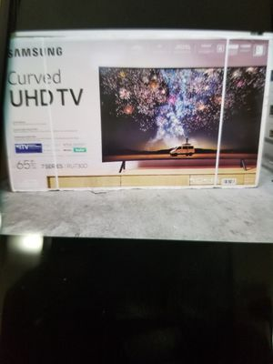 """65"""" LED SMART 4K ULTRA HDTV CURVE CURVE TV BY SAMSUNG. 7 SERIES. 1 year WARRANTY for Sale in Los Angeles, CA"""
