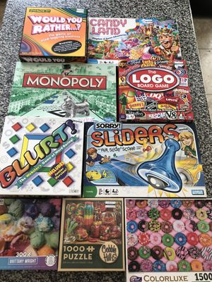 Board games and puzzles for Sale in Phoenix, AZ