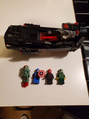 Lego Marvel Super Heroes Iron Skull Sub Attack for Sale in Tigard, OR