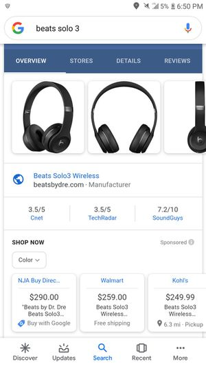 Solo beats 3 wireless for Sale in Salt Lake City, UT