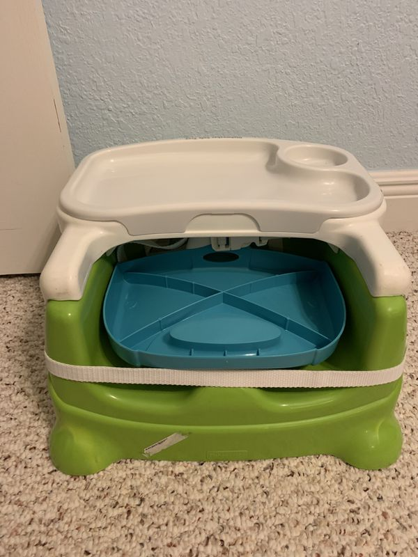 Fisher Price Portable High Chair / Booster with tray