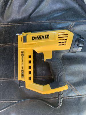 Dewalt electric stapler / nail gun for Sale in Rancho Cucamonga, CA