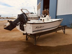 Key Largo 16ft 70hp Yamaha for Sale in Virginia Beach, VA