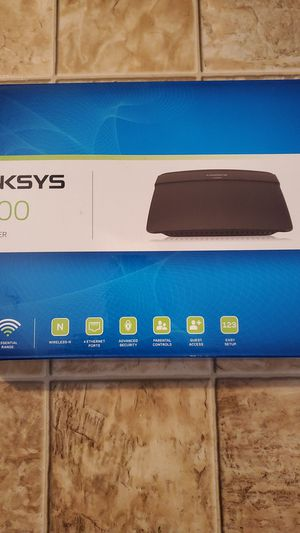 Linksys N300 wireless routed for Sale in Port Orchard, WA