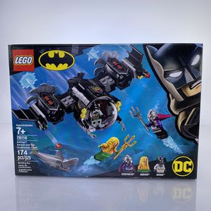 Lego Batman 76116 Batman Batsub and the underwater clash for Sale in Claremont, CA