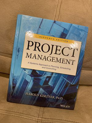 Kerzner's Project Management textbook for Sale in Tempe, AZ