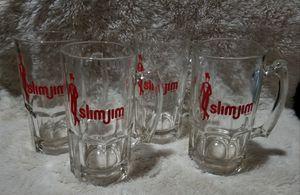 Collectable Slim Jim 32 oz Glass Mugs for Sale in Leavenworth, KS