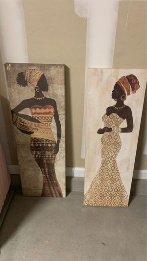 African themed canvases for Sale in Casa Grande, AZ