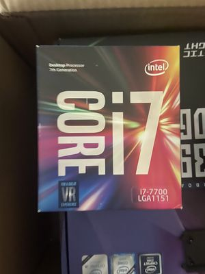 Intel i7-7700 quad core 3.6GHz kaby lake for Sale in Livingston, CA
