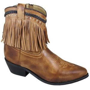 Smoky Mountain Ladies Torrance Leather 7'' Fringe Boots for Sale in Mocksville, NC