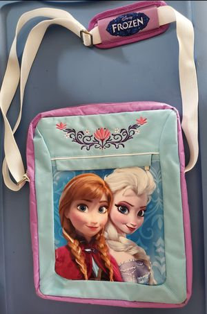 Disney Frozen Elsa and Anna School Bag Totebag with Strap for Sale in Lewisville, TX
