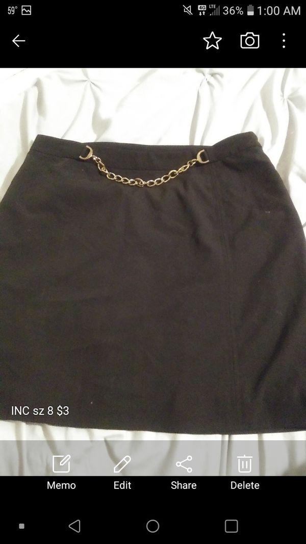 INC skirt $6 sz 8