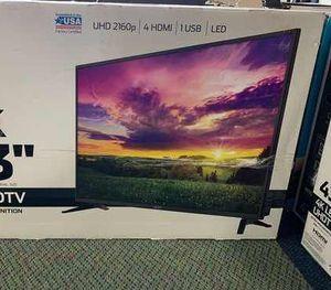"Brand New 4K ONN UHDTV 43"" Open Box w/ warranty SKKP for Sale in Houston, TX"
