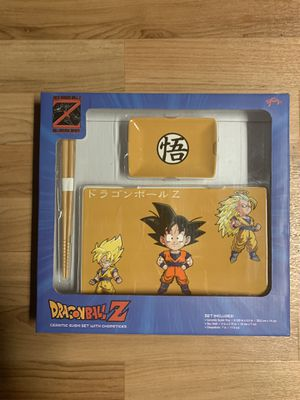 Dragon Ball Z CHIBI Styled Sushi Set with Chopsticks for Sale in New York, NY