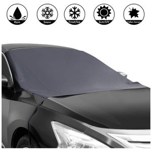 Magnetic Edges Car Snow Cover, Frost Car Windshield Snow Cover, Frost Guard Protector, Ice Cover, Car Windsheild Sun Shade, Waterproof Windshield Pro for Sale in Brooklyn, NY