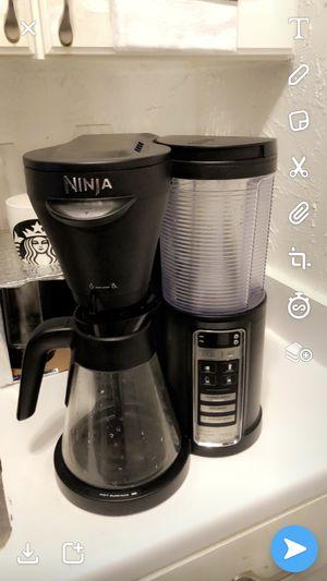 Ninja coffee maker for Sale in Irving, TX