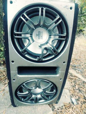 DB POLK AUDIO speakers 12/12 CAR SUBWOOFER for Sale in Hyattsville, MD